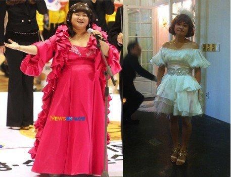 kim shin young pierde in greutate)