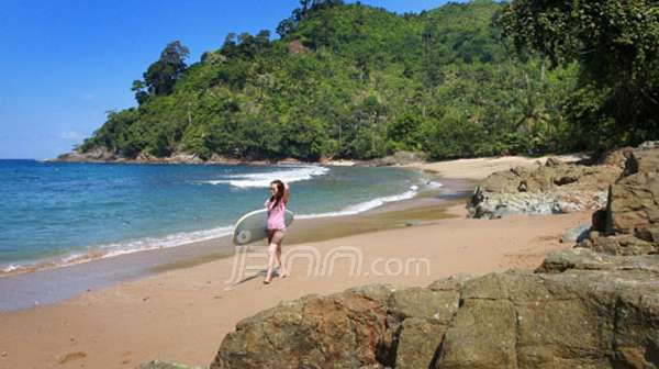 Destinasi Wisata Alam Malang Pantai Wedi Awu Yang Memiliki Ombak Terbaik Jpnn Com