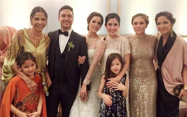 Wulan Guritno Reunian Di Pernikahan Hamish Daud Raisa Jpnn Com