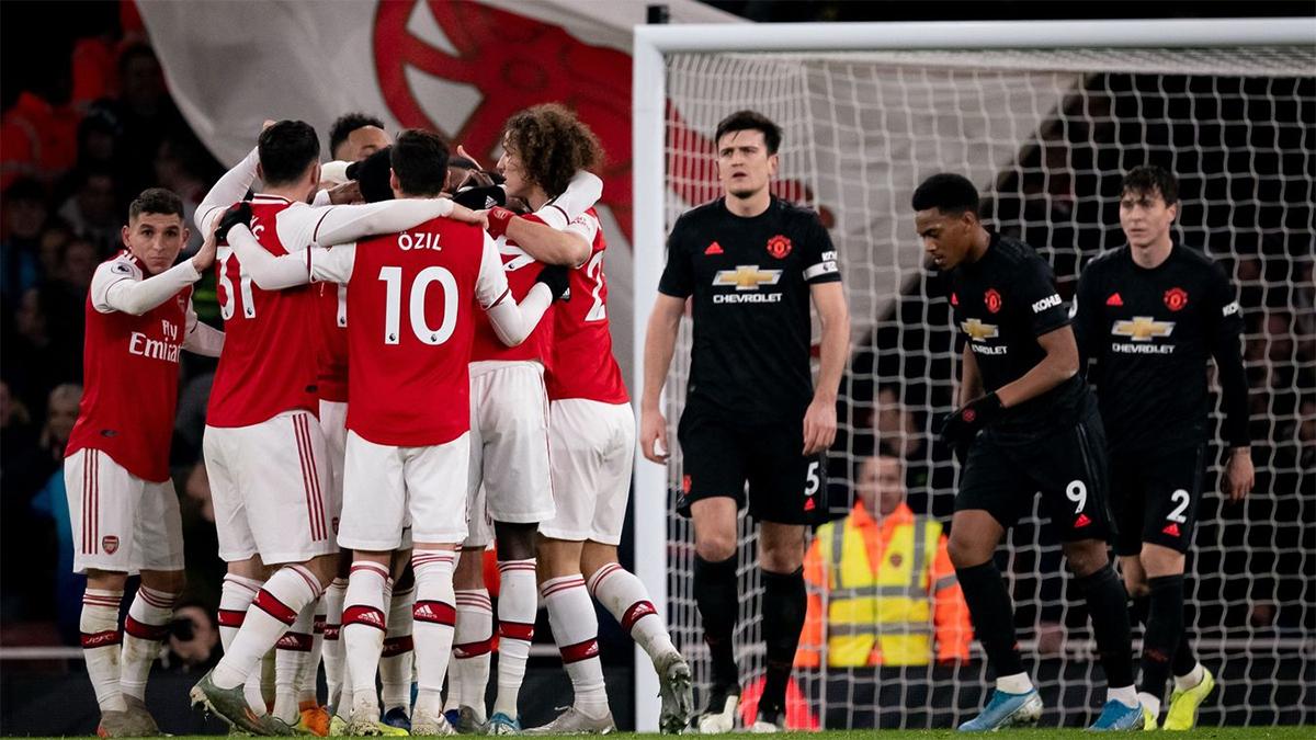 Manchester United Jadi Korban Pertama Arsenal Di Era Arteta