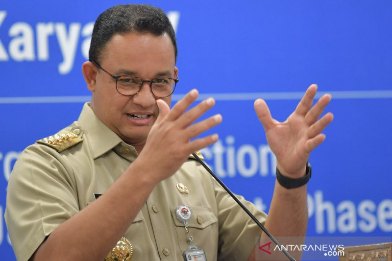 Jakarta Diguncang Demonstrasi, Anies Baswedan Takut COVID-19 Makin  Menjadi-jadi - JPNN.com