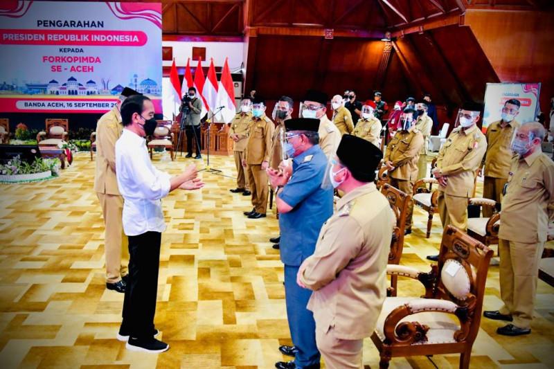 Presiden Jokowi: Tinggi ini, Nasional Hanya 3 Persen - JPNN.com