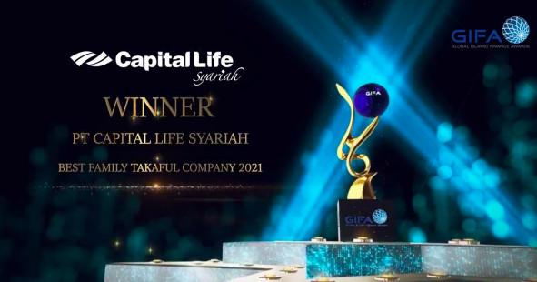 PT Capital Life Syariah Raih Penghargaan dari GIFA 2021 - JPNN.com