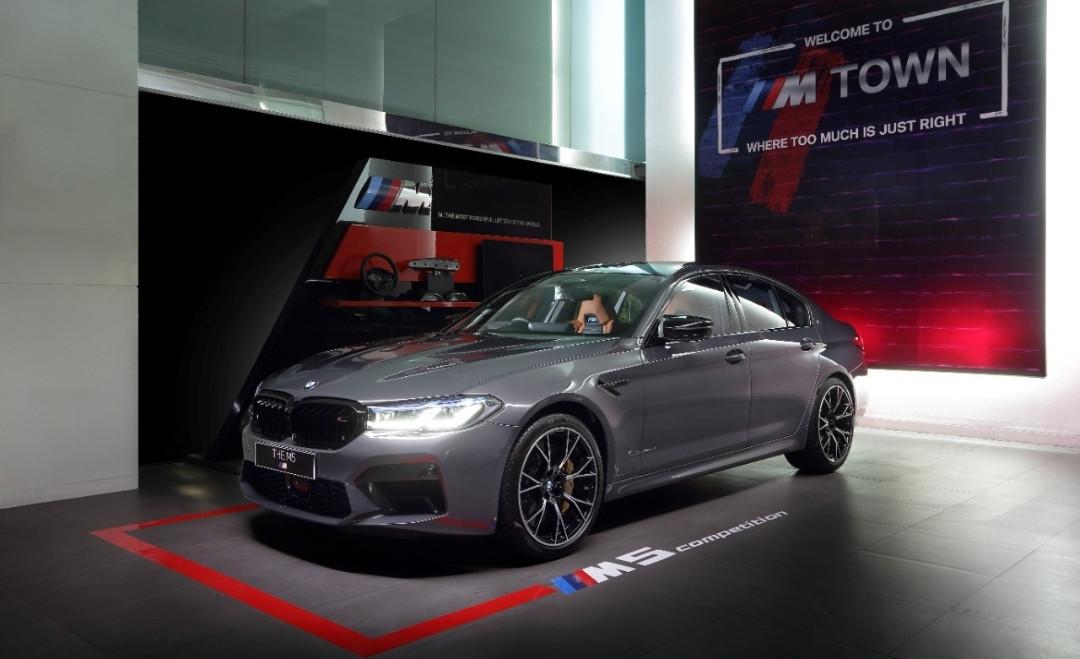 BMW M5 Competition Resmi Mengaspal di Indonesia, Harganya Hampir Rp 5 Miliar - JPNN.com
