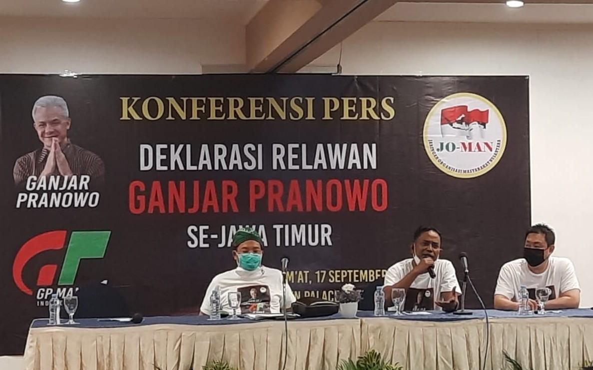 Jokowi Mania Jatim Dukung Ganjar Pranowo - Erick Thohir di Pilpres 2024 - JPNN.com