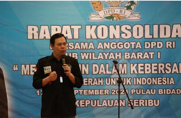 Senator Se-Wilayah Sumatera Membahas Amendemen & Perubahan Iklim - JPNN.com