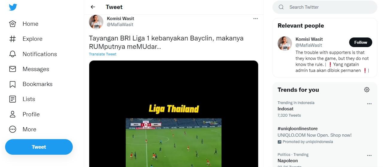Soal Kualitas Tayangan Liga 1, PT LIB Merespons Begini - JPNN.com