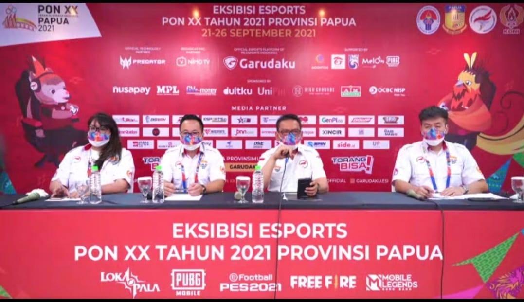 PON XX Papua Jadi Tonggak Awal Sejarah E-Sport di Indonesia - JPNN.com