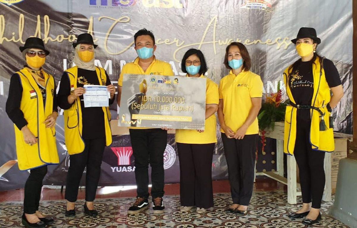 LCJM Movast Beri Bantuan Untuk Anak-anak Penderita Kanker - JPNN.com