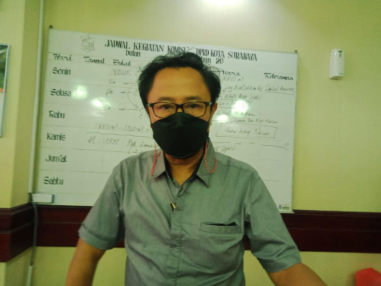 DPRD Kota Surabaya Baktiono Sentil Wakil Wali Kota Cak Armuji - JPNN.com