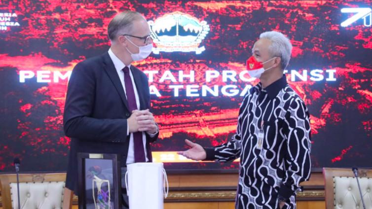 Dubes Denmark Mengunjungi Ganjar Pranowo, Lirik Ragam Investasi - JPNN.com