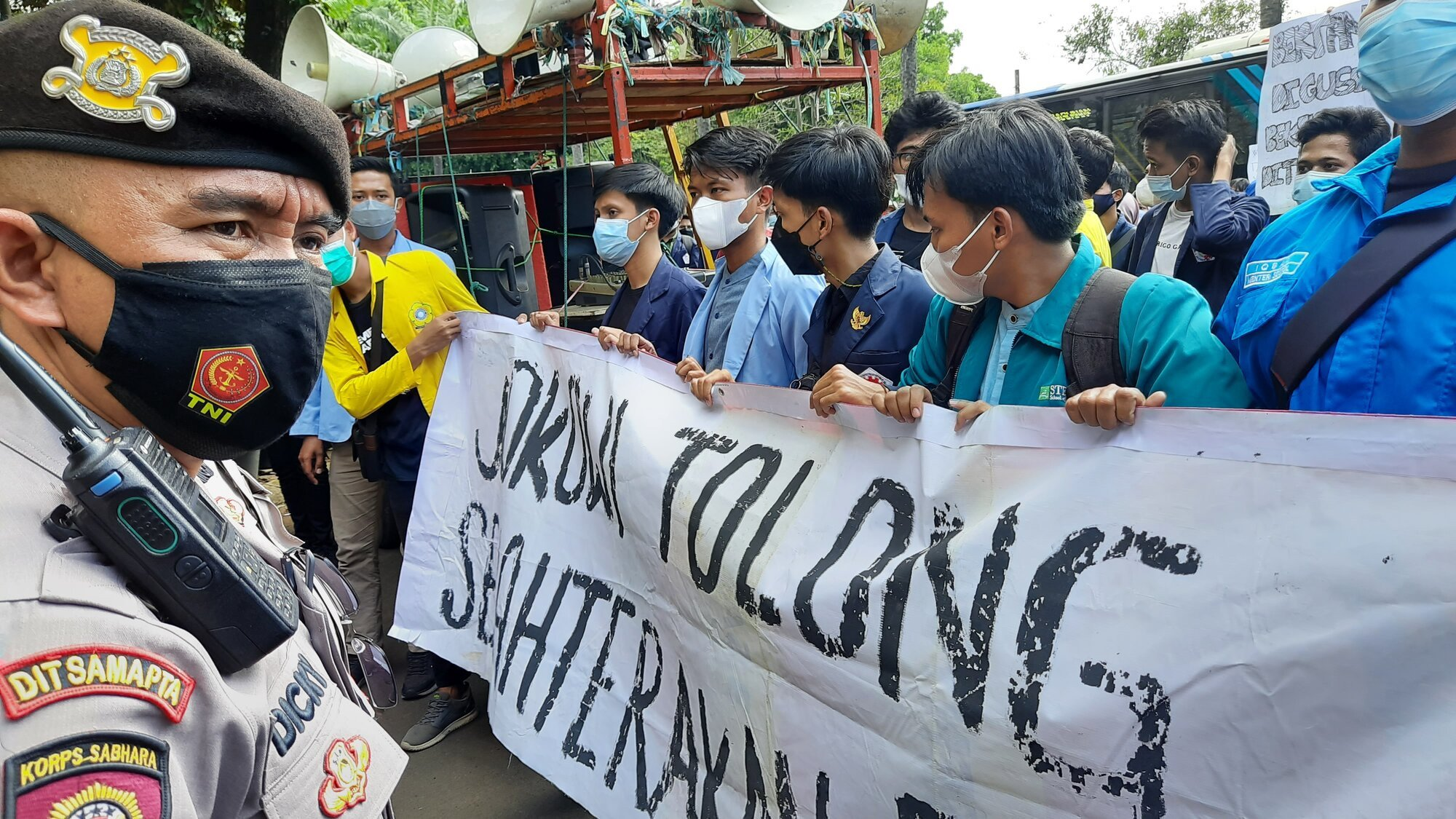 Hari Tani Nasional, BEM SI Menggelar Aksi Menyampaikan Tuntutan - JPNN.com