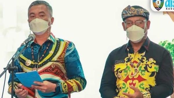 Bupati dan Wakil Bupati Malinau Umumkan Capaian Program 100 Hari Kerja - JPNN.com