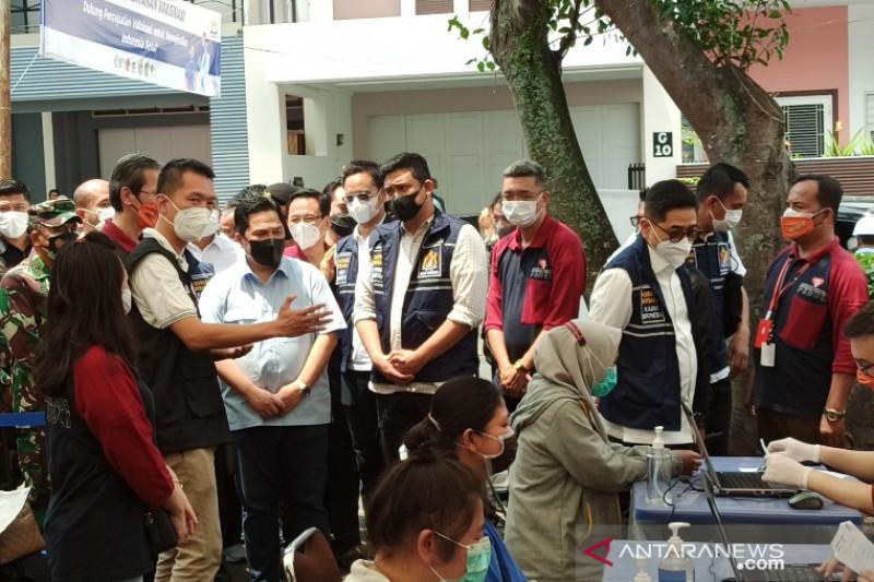 Erick Thohir Puji Swasta Bantu Pemerintah Mempercepat Upaya Pencapaian Herd Immunity - JPNN.com