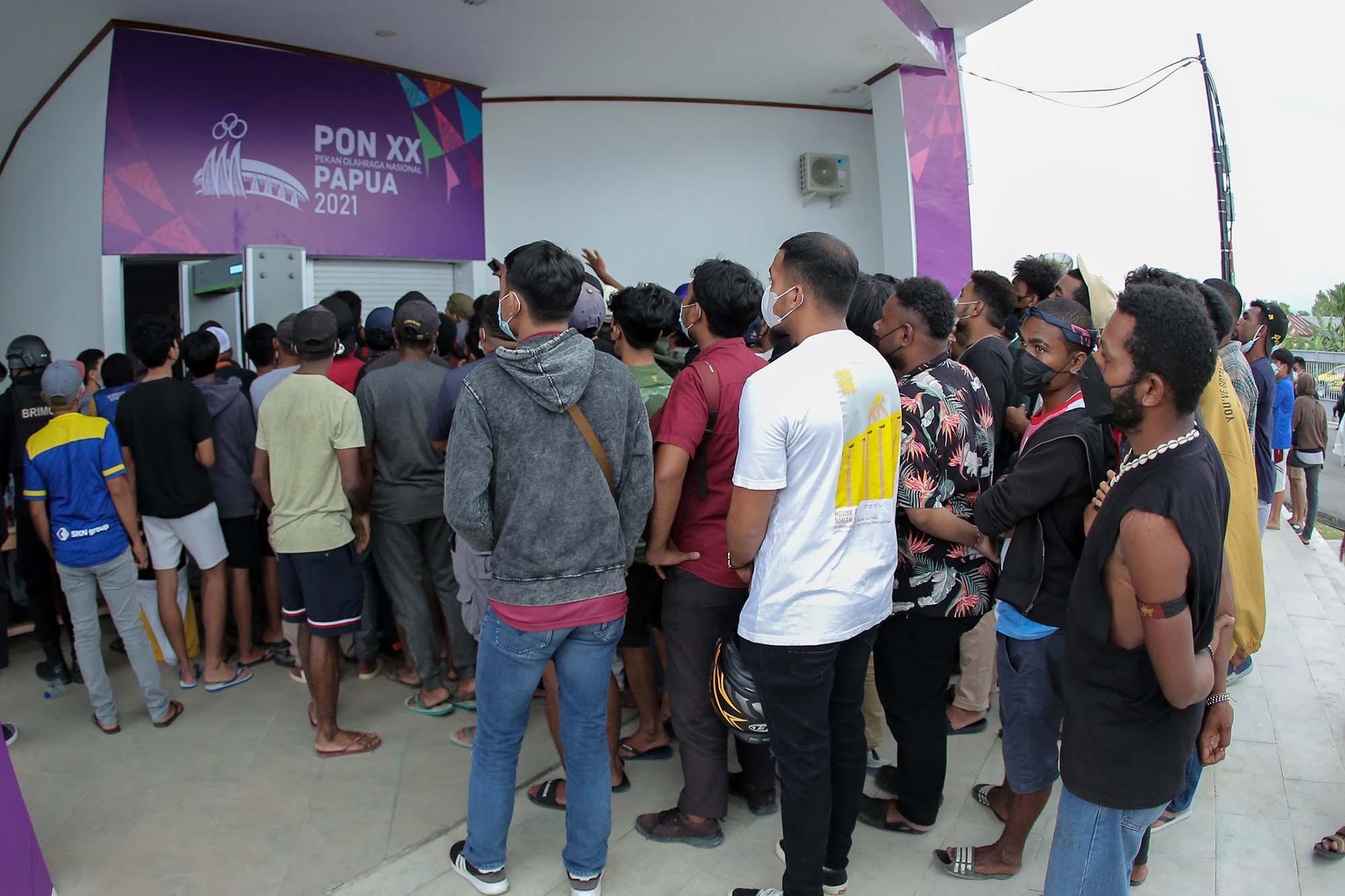 Penonton PON Papua Membeludak, Satgas Covid-19 Bilang Begini - JPNN.com