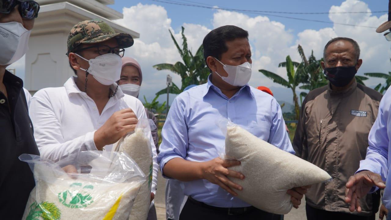 Bupati Dony Dorong Bio Gro, Panen Padi di Sumedang Bisa 2 Kali Lipat - JPNN.com
