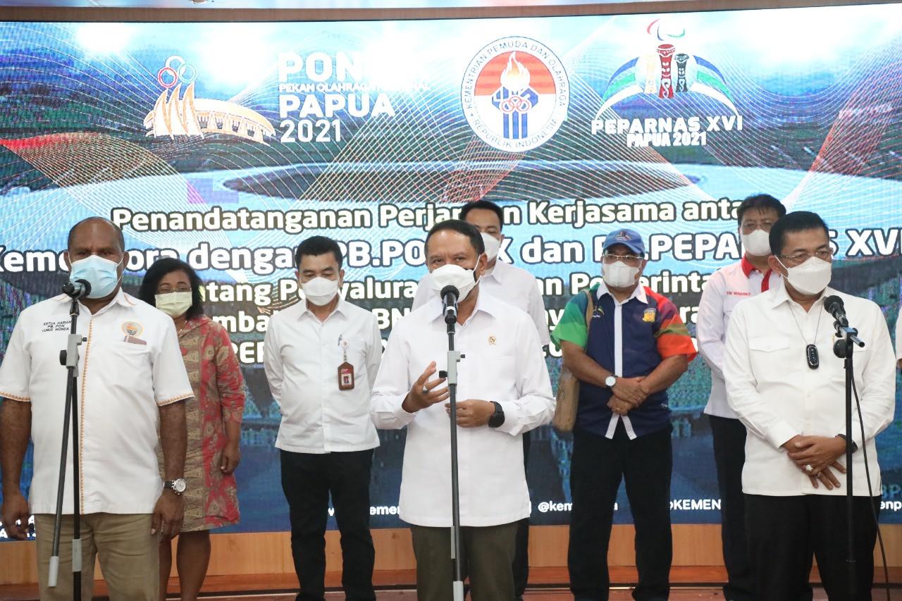 Harapan Menpora Amali Terhadap Pergelaran PON XX dan Peparnas XVI - JPNN.com