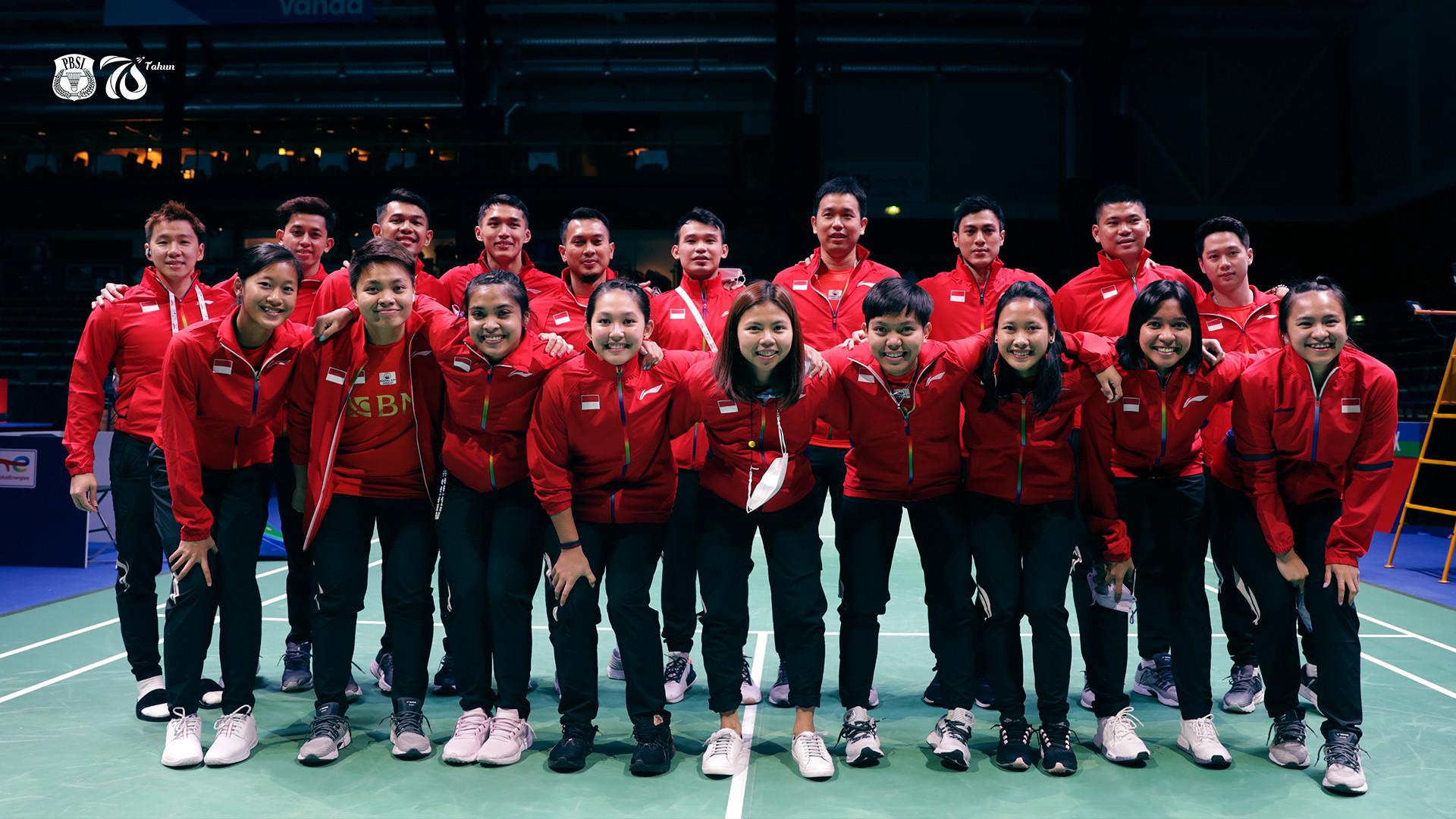 PBSI Puas Indonesia Menang Mudah Lawan Rusia di Piala Sudirman - JPNN.com