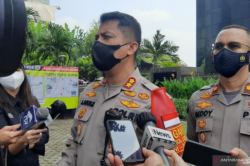 500 Personel Gabungan Bersiaga di KPK, Ada Brimob - JPNN.com