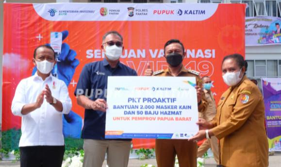 Pupuk Kaltim Salurkan Ribuan Paket Sembako & Alat Kesehatan ke Fakfak Papua Barat - JPNN.com