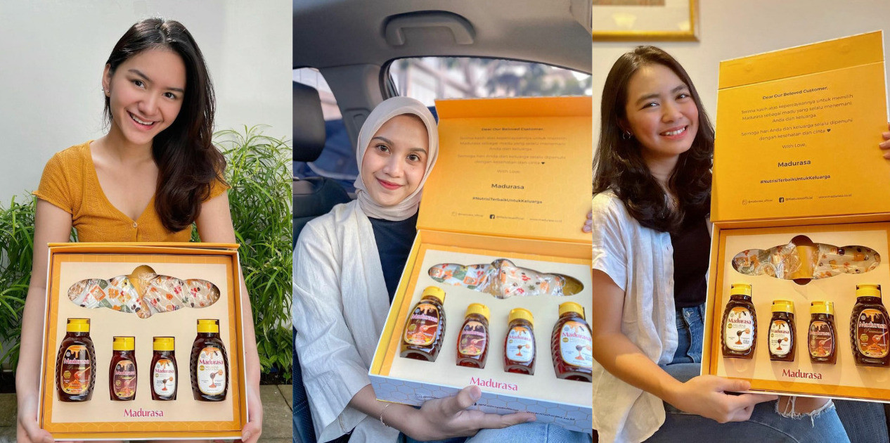 Rayakan Hari Pelanggan Nasional, Madurasa Bagikan Hampers - JPNN.com