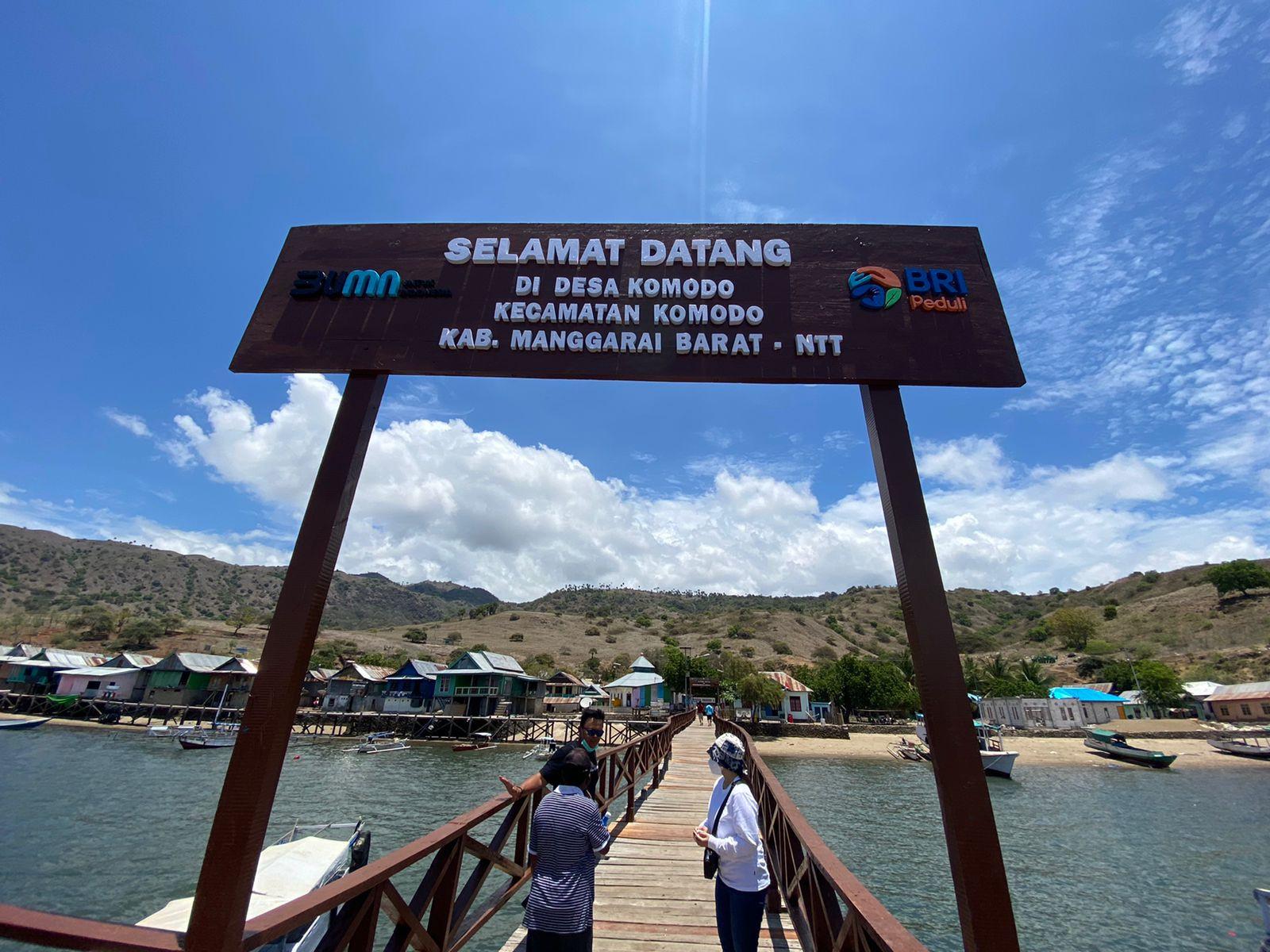 BRI Peduli Mendongkrak Ekonomi Pulau Komodo via Bantuan Infrastruktur Pariwisata - JPNN.com