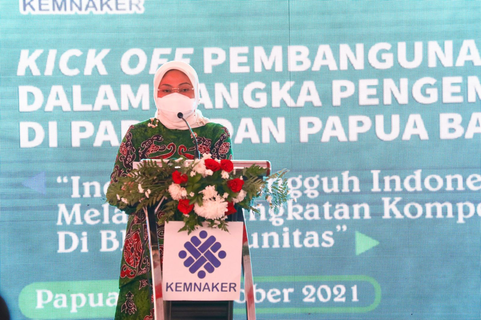 Wapres Ma'ruf Amin Resmikan BLK Komunitas di Papua dan Papua Barat - JPNN.com