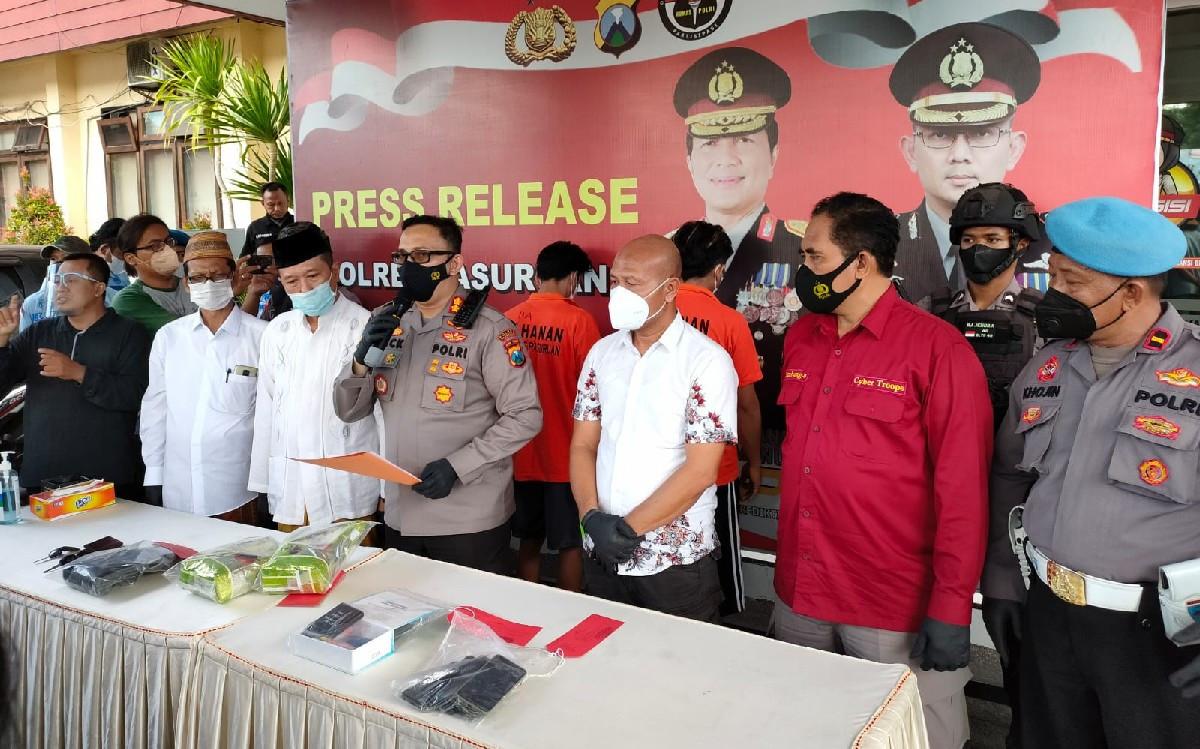 Polres Pasuruan Gagalkan Peredaran Sabu-sabu 2 Kilogram Asal Myanmar - JPNN.com