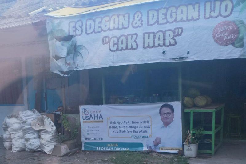 Spanduk Airlangga Bertebaran di Tempat tak Biasa di Surabaya, Lihat ini - JPNN.com