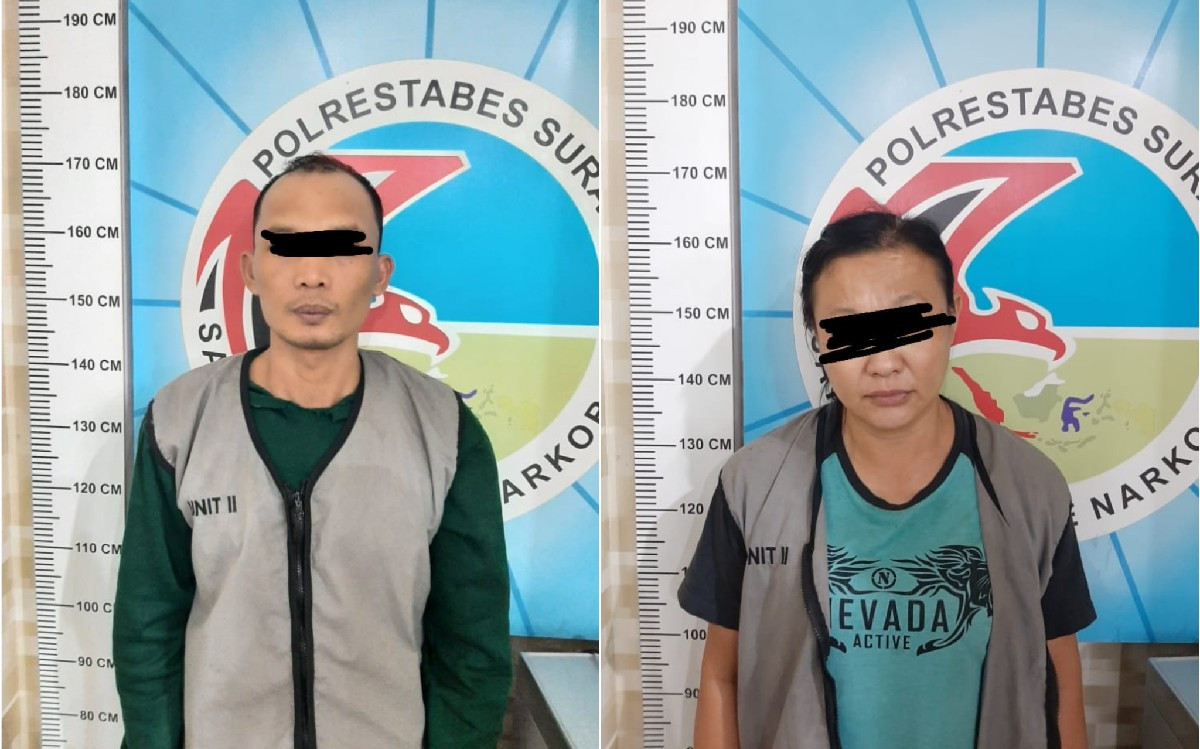 2 Warga Surabaya Ini Ditangkap Polisi, Silakan Amati Wajahnya, Anda Kenal? - JPNN.com