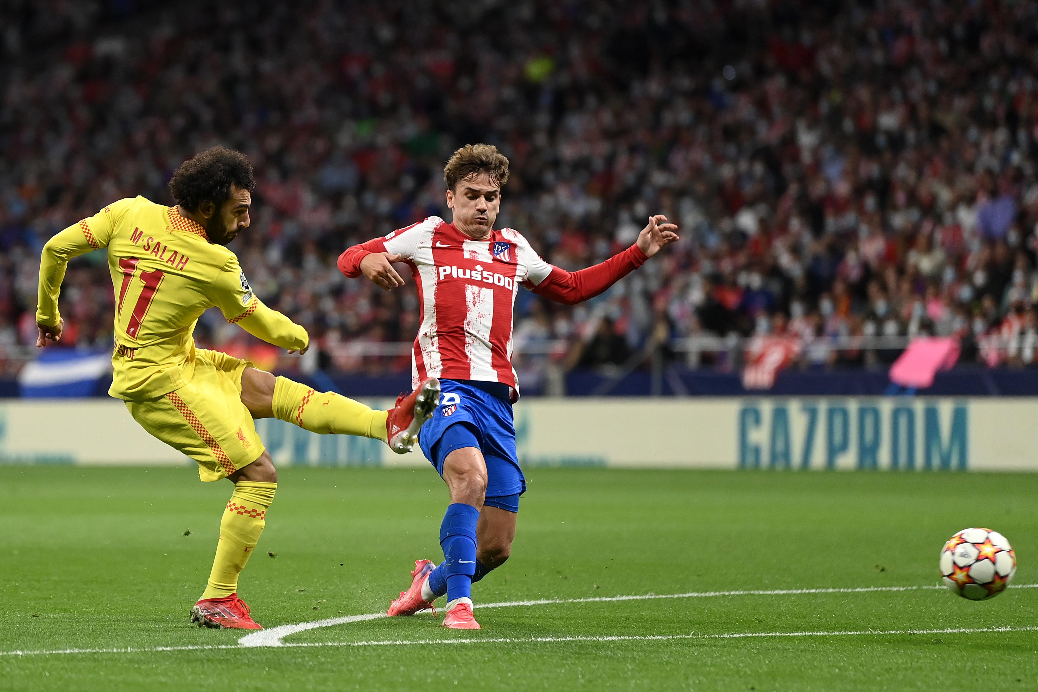 Atletico Madrid vs Liverpool: Mohamed Salah Kinclong, Los Rojiblancos Keok - JPNN.com