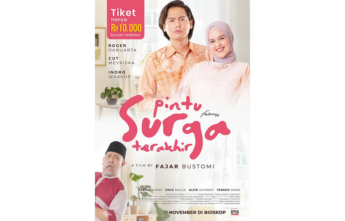Tiket Film Pintu Surga Terakhir Cuma Dijual Rp10 Ribu, Wow - JPNN.com