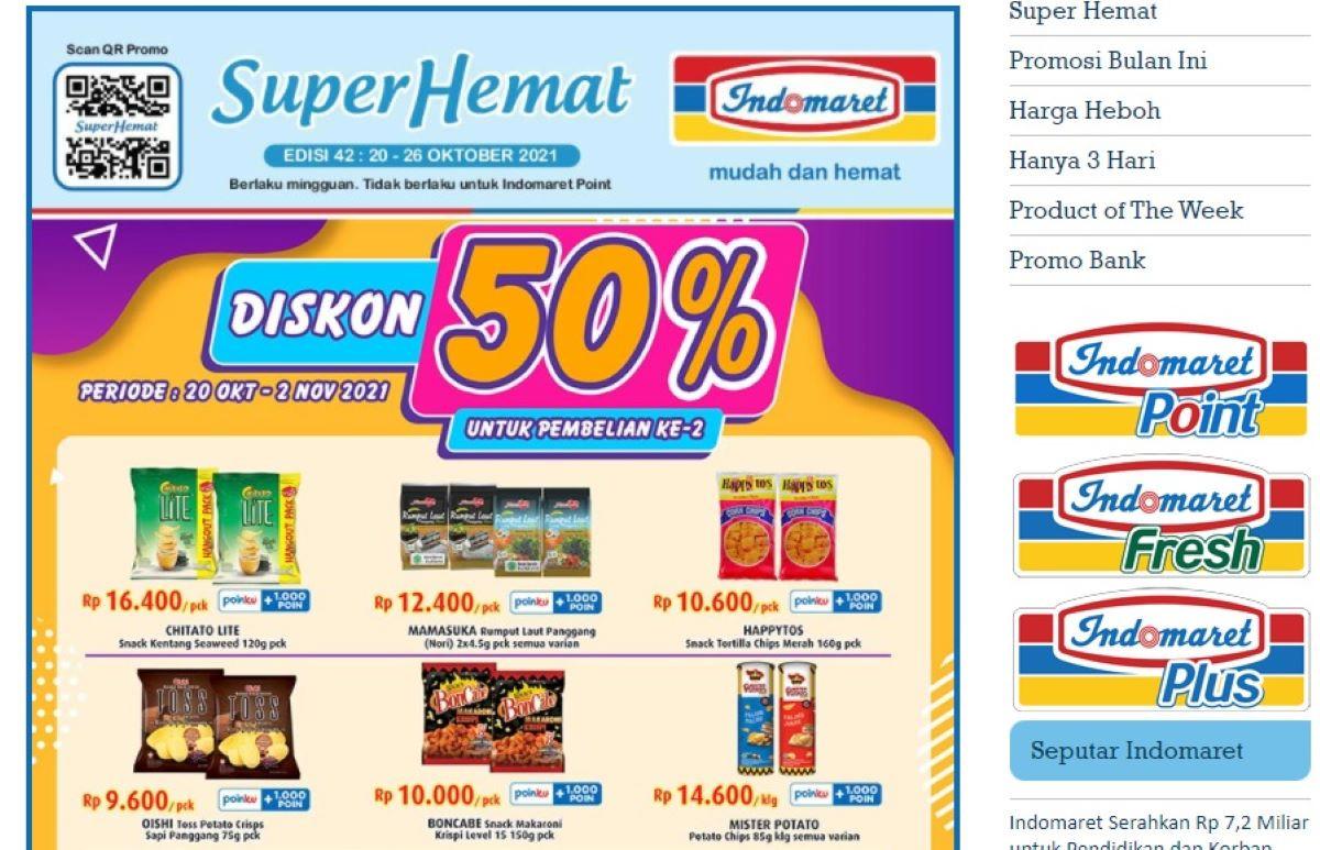 Katalog Belanja Indomaret Hari Ini, Yuk Cek Promo Super Hemat, Banyak Diskon - JPNN.com