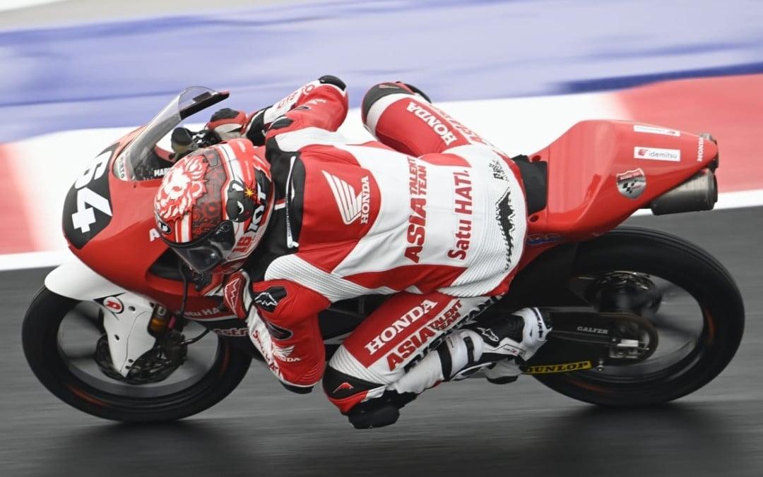 Pakai Nomor Keramat, Mario Aji Menikmati Sesi Latihan Moto3 di Misano - JPNN.com