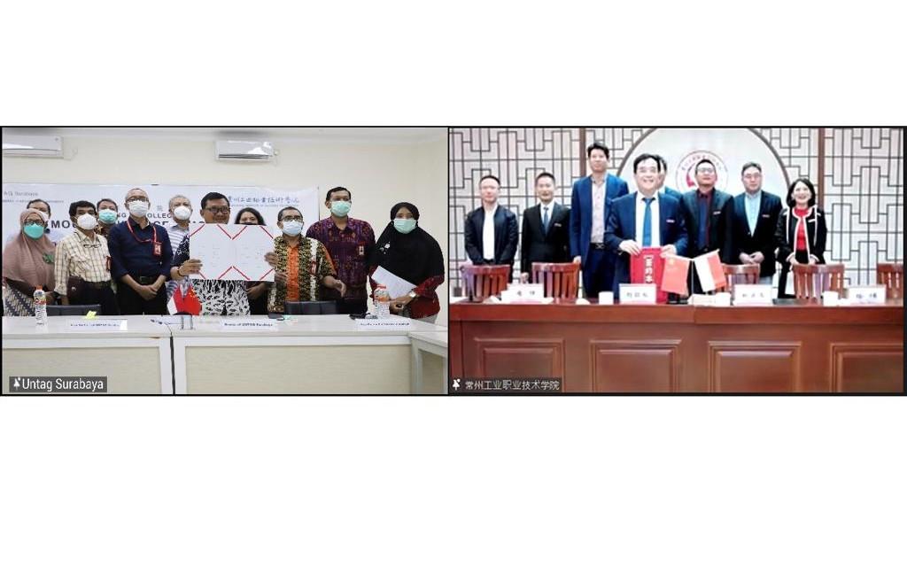 Perluas Jaringan, Untag Surabaya Berkolaborasi dengan Kampus Tiongkok - JPNN.com