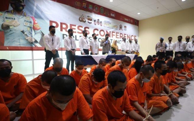 2 Bulan, 34 Pelaku Kriminal Ditangkap, Bagi yang Pernah Berhubungan Siap-Siap Saja - JPNN.com