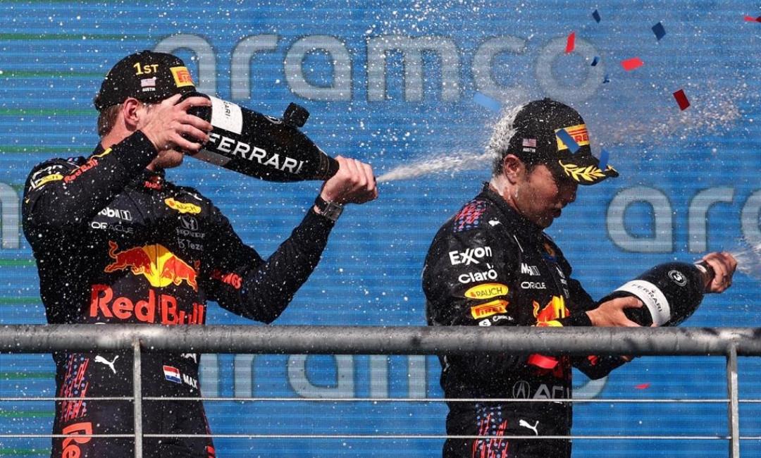 Pelumas Mobil 1 Mengantarkan Pembalap Red Bull Kuasai Podium F1 Amerika Serikat - JPNN.com