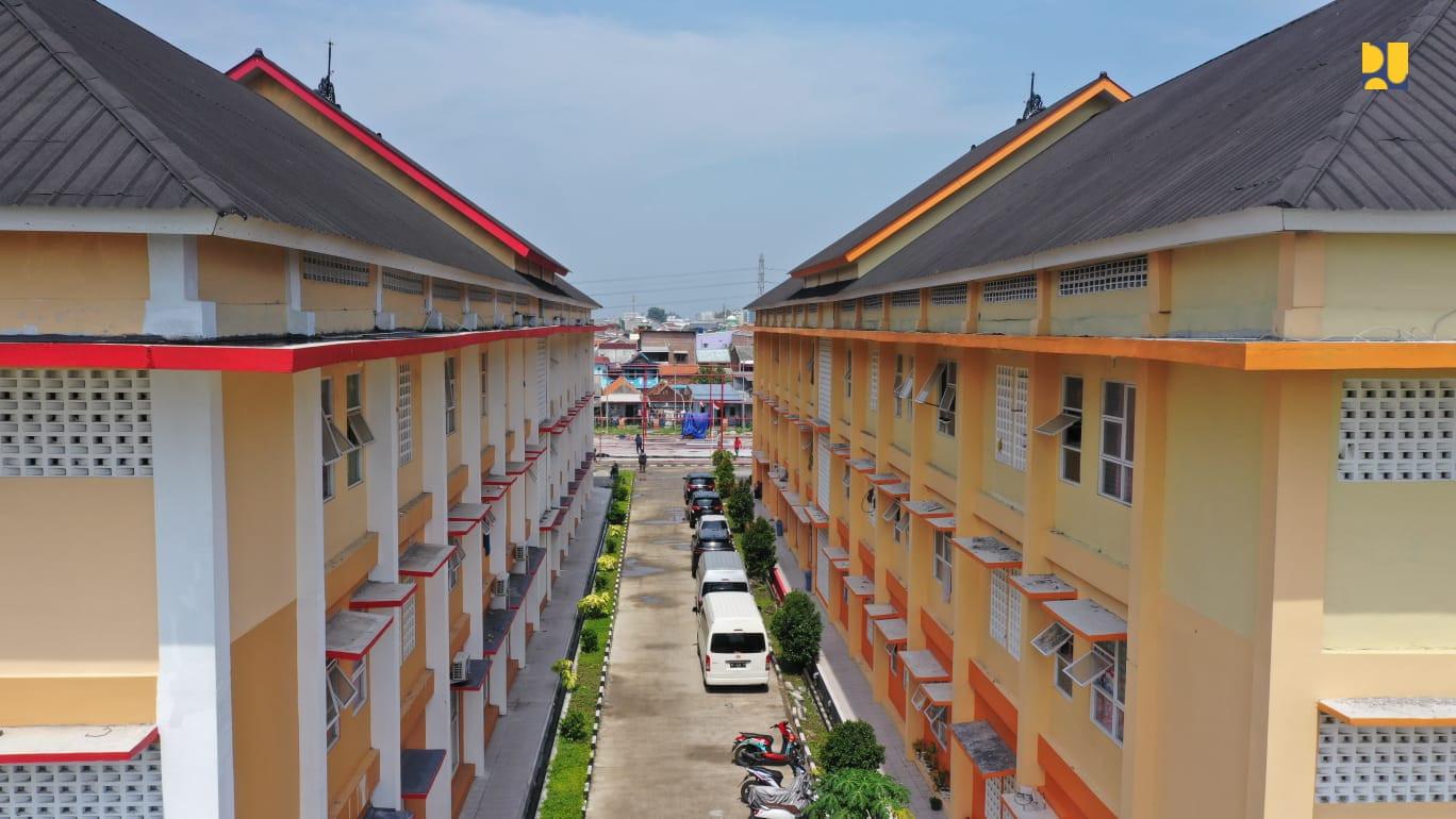 2 Tower Rusunawa untuk Warga Terdampak Normalisasi BKT Semarang Selesai Dibangun - JPNN.com