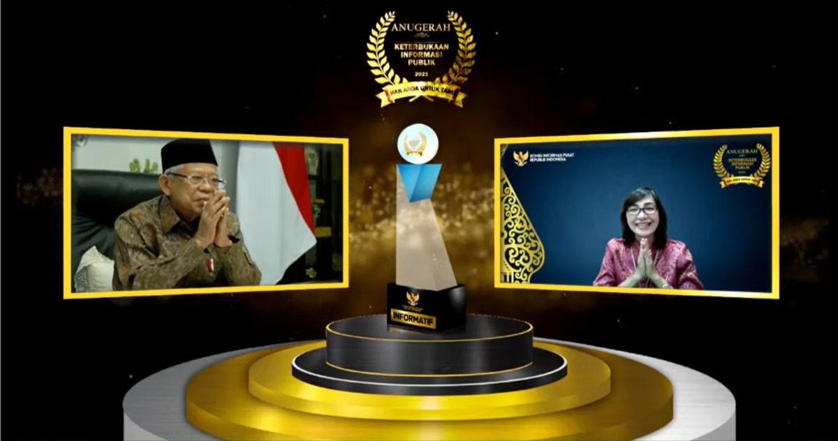 Kementerian ATR/BPN Raih Penghargaan KIP, Predikat Meningkat jadi Informatif - JPNN.com