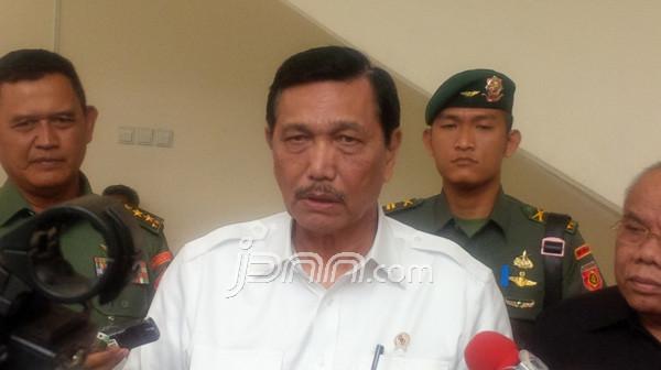 Respons Luhut Binsar Panjaitan Soal Gerindra Merapat ke Jokowi