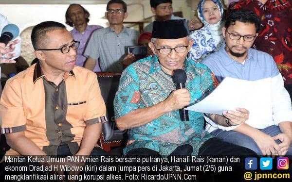 Jangan Pertentangkan Amien Rais Vs Zulkilfi Hasan, Ada Hanafi dan Mumtaz di Kepengurusan PAN - JPNN.com