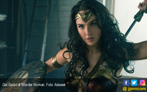 Syuting Rampung, Wonder Woman 1984 Dipastikan Rilis 2020 - JPNN.COM