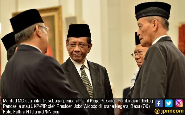 Mahfud MD Tegaskan Pancasila dalam RUU BPIP Tidak Berubah - JPNN.com