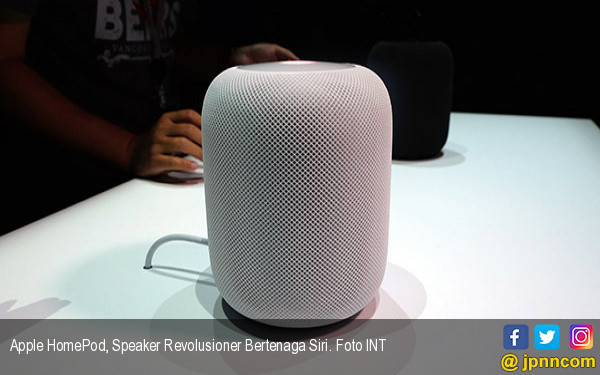 Apple HomePod, Speaker Revolusioner Bertenaga Siri - JPNN.COM