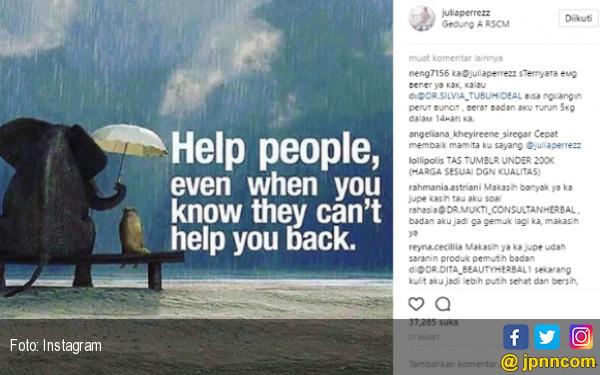 Semangat Jupe yang Tertinggal di Instagram - JPNN.com