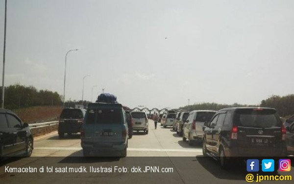 Jasa Marga Catat Sebegini Kendaraan Meninggalkan Jakarta - JPNN.COM