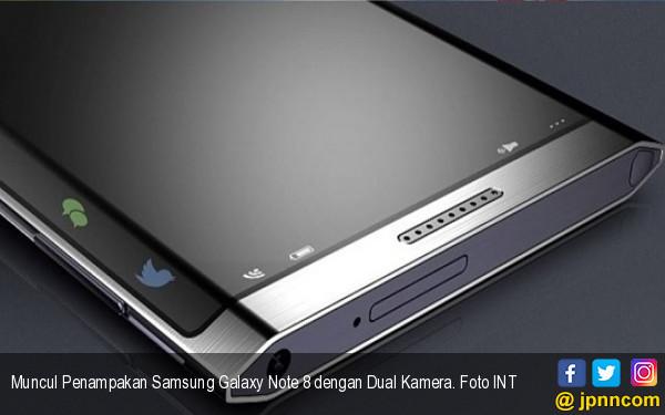 Muncul Penampakan Samsung Galaxy Note 8 dengan Dual Kamera - JPNN.COM
