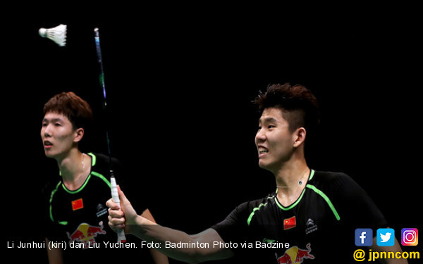 Tiang Listrik Tiongkok Tumbang di 16 Besar Denmark Open - JPNN.COM