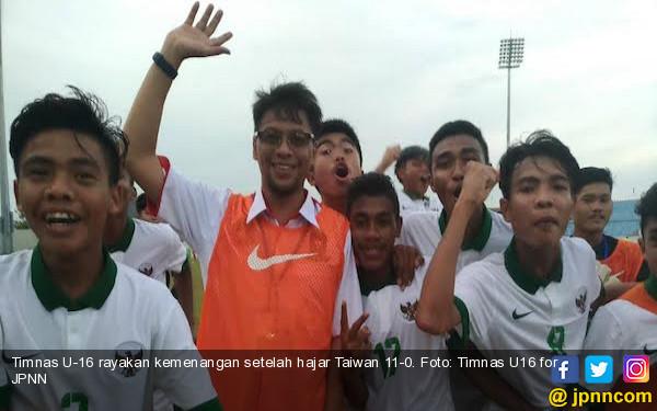 Juara di Vietnam, Pelatih Timnas U-15 Merendah dan Bilang Begini - JPNN.COM