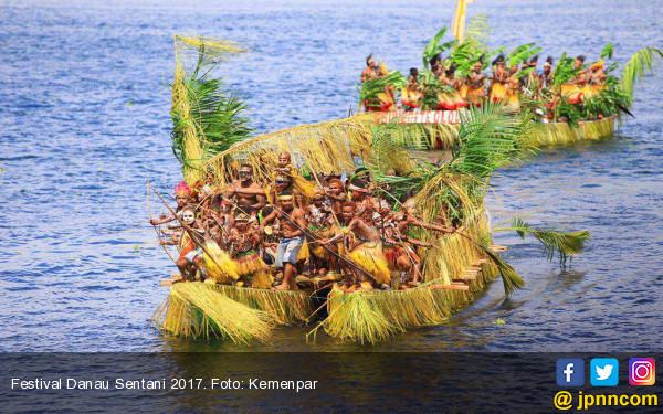 Dimeriahkan 30 Kampung, Festival Danau Sentani Sajikan Banyak Inovasi - JPNN.com